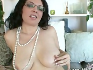 classy woman worships licking on penis