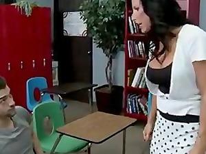 titty drilling the teacher