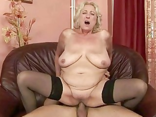 desperate heavy grandma likes sweet banging