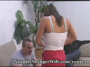 hubby surprised by swinger housewife