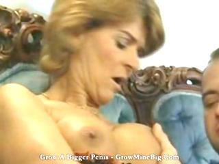 ginger older german lady