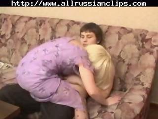 lovely russian older  russian sperm swallow