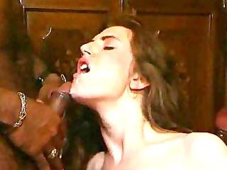 interracial lady vagina fucking and cock sucking