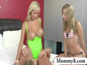 young chastity lyn and stepmom evita pozzi