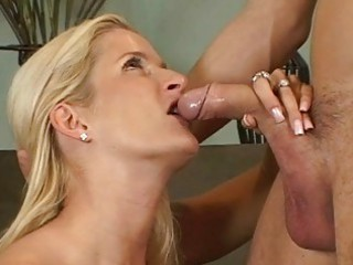 pale woman ball tasting cock sucking act
