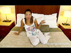 eastern woman does her first adult video