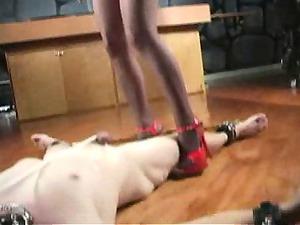 extreme cougar dominatrix bizarre cbt balls