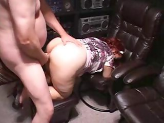 chubby ginger mature eats his penis and later