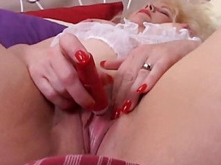 sweet chubby mature blonde