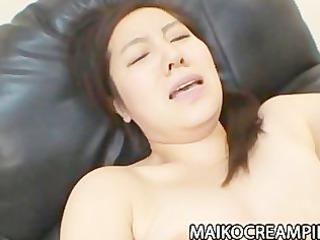 older  japanese mikako imada acquiring her vagina