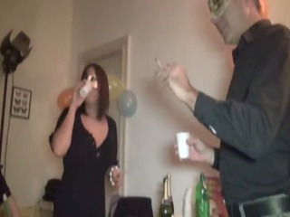 french mature babe analfucked during a celebration