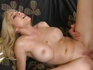 rough bottom blond albino momma with giant bosom