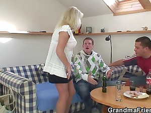 partying fuckers nail pale grandma