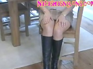 desperate extremely impressive nylons mommy into
