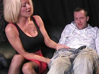 busty albino mature babe in horny oral cfnm deed