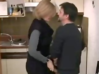 french milf is gangbanged difficult