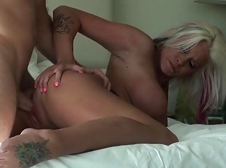giant chest woman picked up and banged