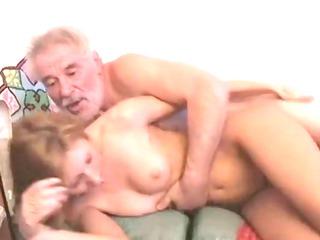 grandpa with grand daughter