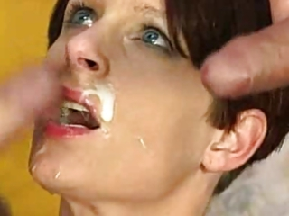 wonderful cougar getting facial  who is she?