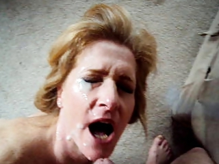wife fucks and obtains huge facial