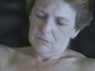 62 years elderly woman masturbating. fresh