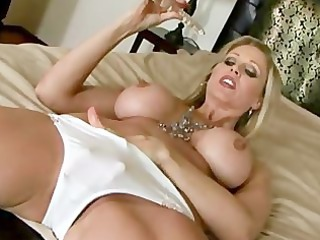 voluptuous albino milf talks you through her
