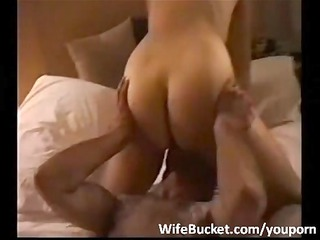 hotel three people with fresh wife