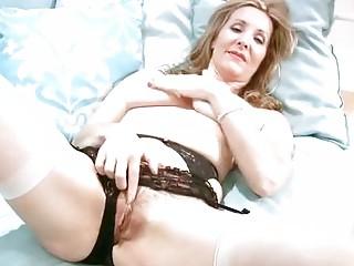 slutty older  inside panties fist masturbation