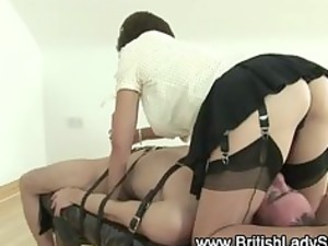 femdom angel sophia inside stockings