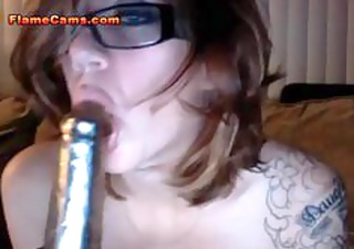 giant chest webcam mature babe gang-banging her