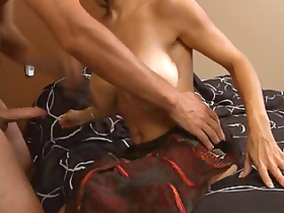 cougar older squirts when arse banged