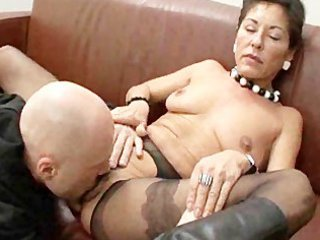hairy grownup boss with two salaried