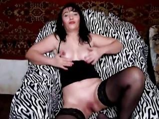 woman into dark bikini fisting slippery cave