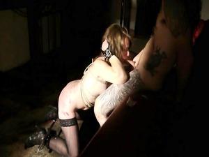 triple bdsm and pee for slave sophia
