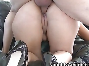 lusty and horny latino wife gives deep warm cock