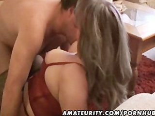 fat and desperate inexperienced wife licks and