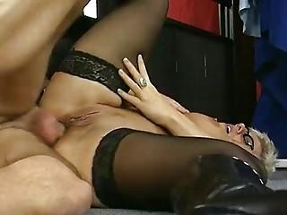 german lady pretty shape bottom  clip