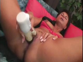 cougar british amp ivana devices her vagina later