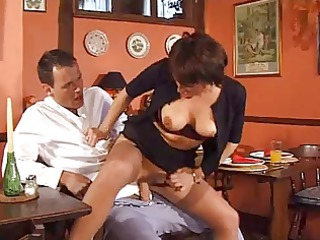 desperate housewife double drilled by two strong