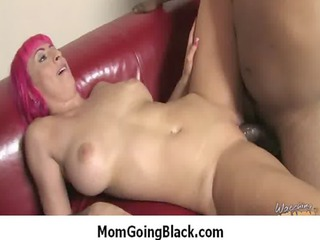 my large bossom milf enjoys big dark heavy cock 35