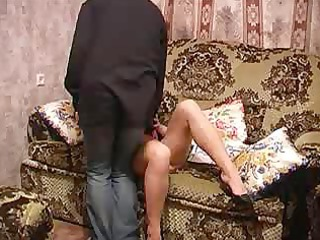 inexperienced mature is busty and films her