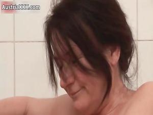 dirty brunette homosexual women get slutty making