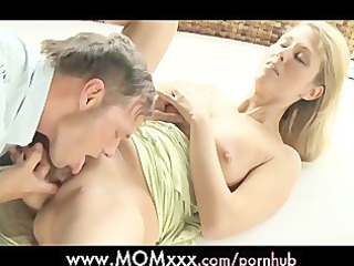 woman pure milf makes like to her man