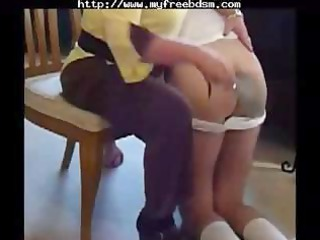 spanked by mom