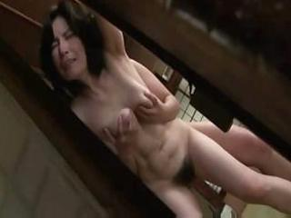 cougar japanese slut takes lathered up and licks