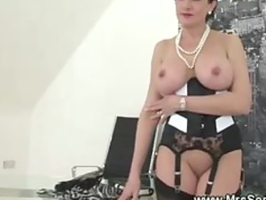 cuckold watches housewife eat cock