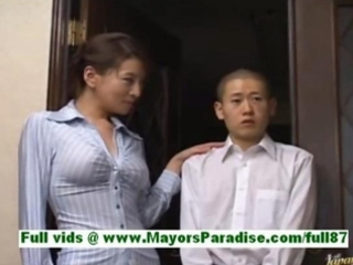rei kitajima cougar japanese whore at house with