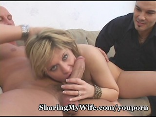 wifes pussy is crazy for fresh dick