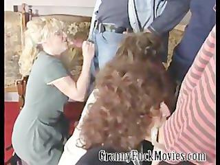 big granny fuckparty at home
