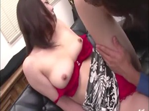 oriental mature receives sensual rimjob